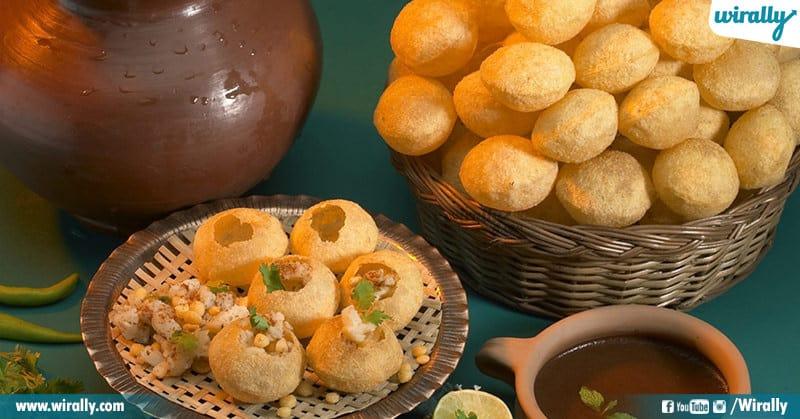 Favorite Snack Panipuri