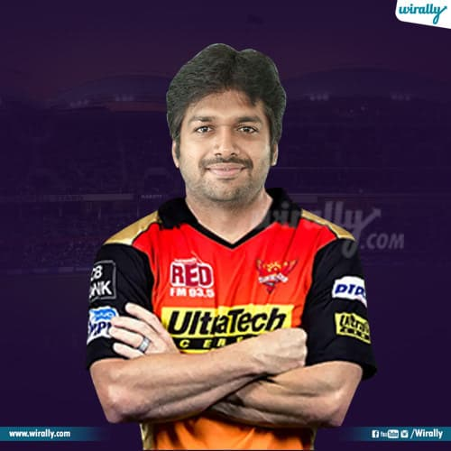 anil ravapudi as cricketer