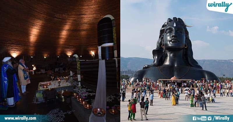 112 Ft Adiyogi Statue