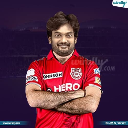 Puri Jagannath as cricketer