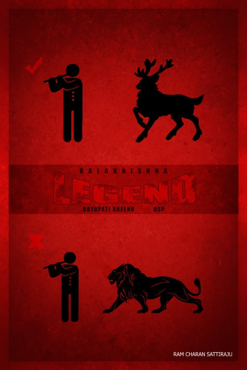 6. Sattiraju Legend Minimal Poster