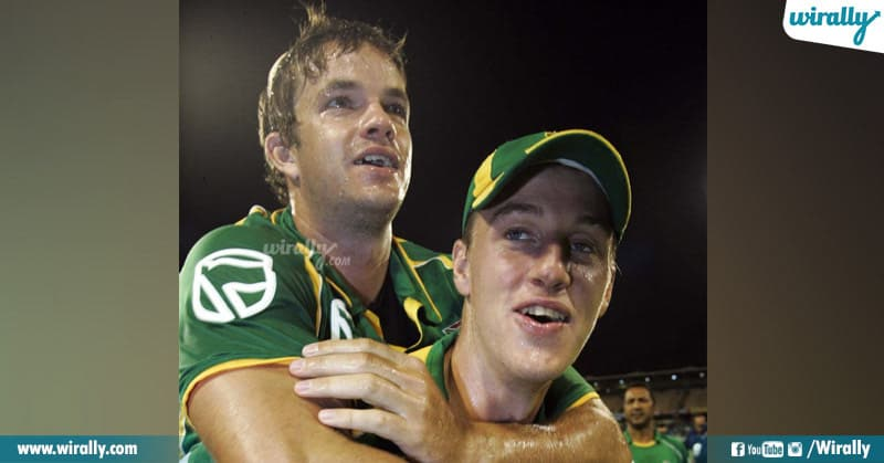 7 - Albie Morkel and Morne Morkel