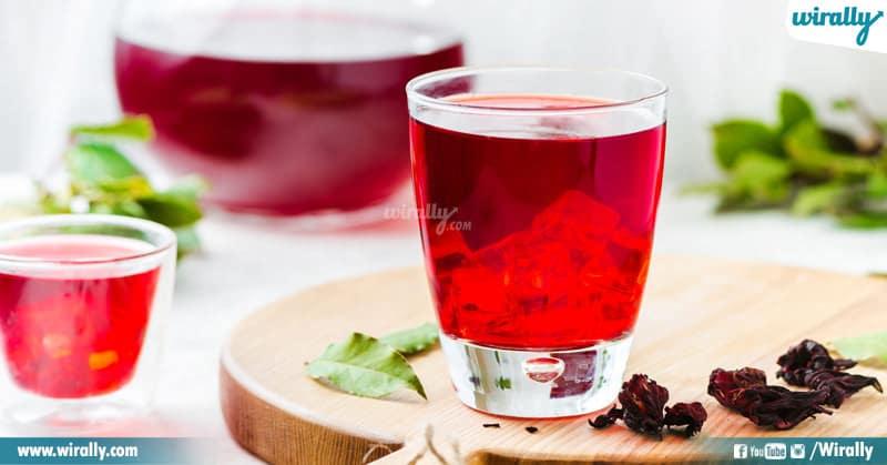 7-Hibiscus tea