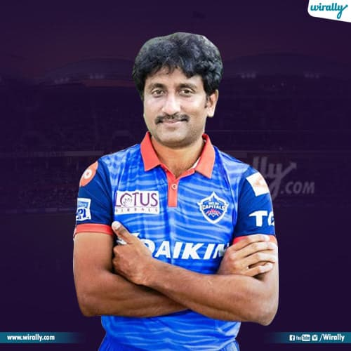 srinu vaitla as cricketer