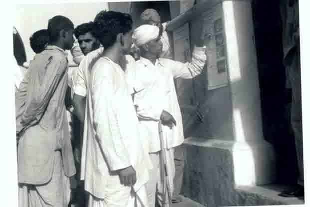 Rare Gallery Of India's First Elections