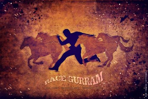 8. Sattiraju Race Guram Minimal Poster