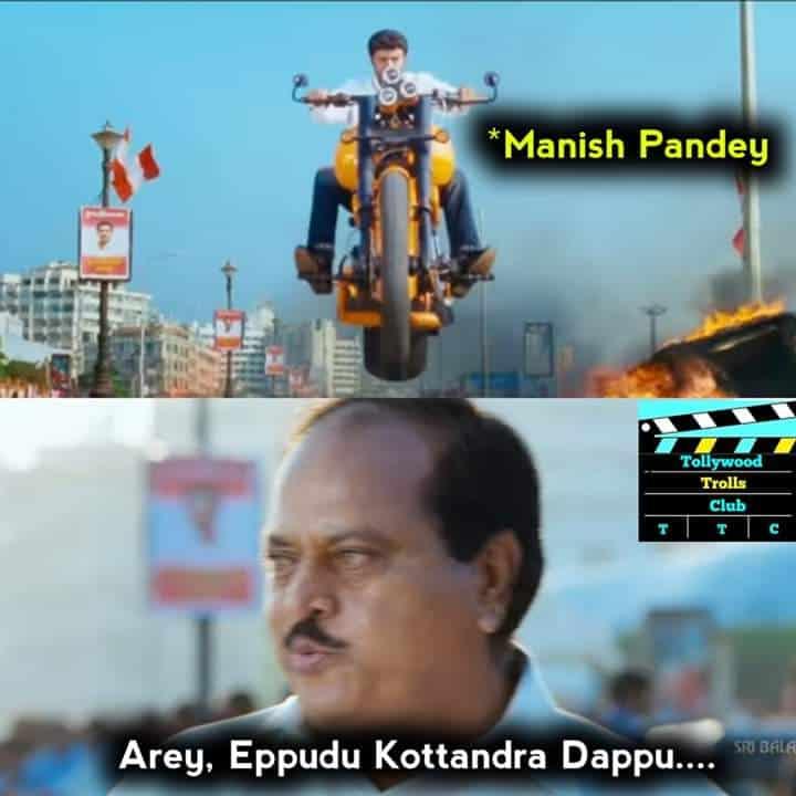 Manish Pandey Terrific play