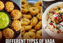 Different types of Vadas found in India kitchens