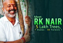 Meet RK Nair & His Unconditional Love Towards Planting Trees-web