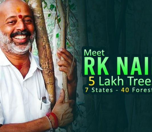 Meet RK Nair & His Unconditional Love Towards Planting Trees-web
