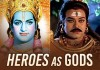 Our telugu heroes embodiment as gods - Web