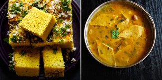 most popular Gujarati Dishes