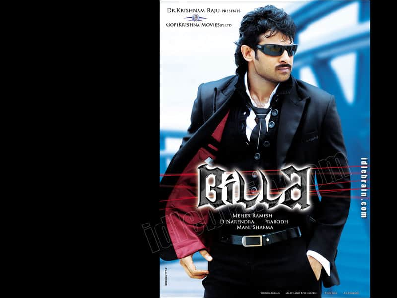 Prabhas Billa Movie Posters