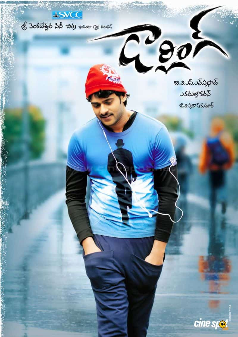Prabhas Darling Movie Posters