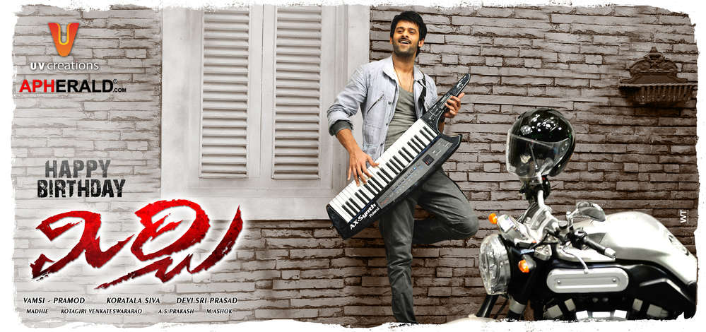 Prabhas Mirchi Movie Posters