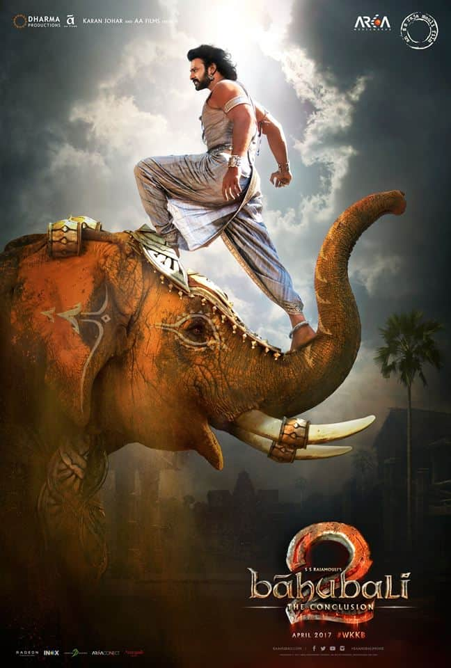 Prabhas Baahubali 2 Movie Posters