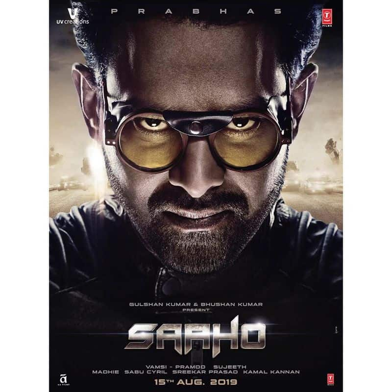 Prabhas Saaho Movie Posters