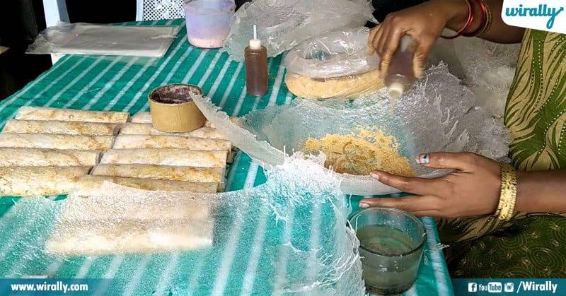 Delicious Authentic Sweet Pootharekulu