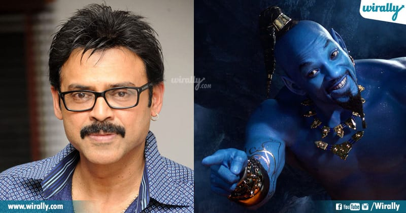 Telugu Actors voice for other roles