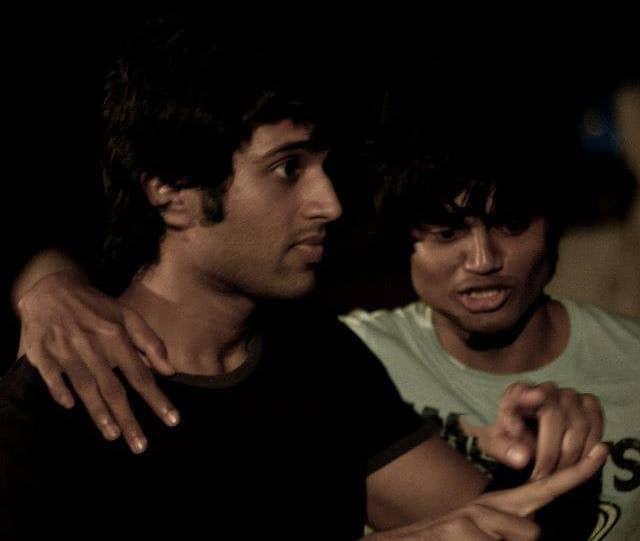 44. Vijay Deverakonda rare pic with his brother Anand Deverakonda
