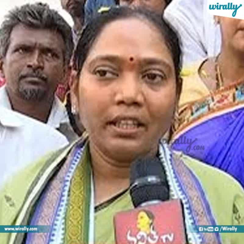 49 - Prathipadu (SC) Mekathoti Sucharitha, YSRCP