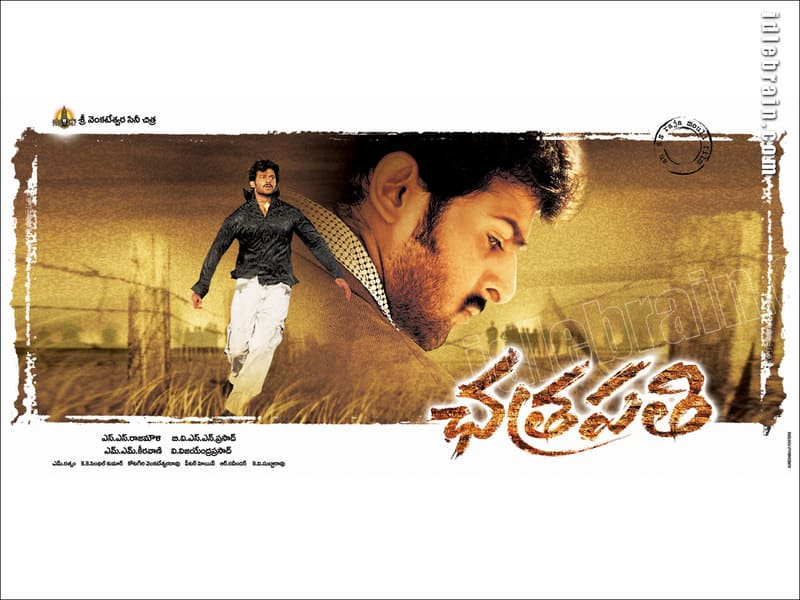 Prabhas Chhatrapathi Movie Posters