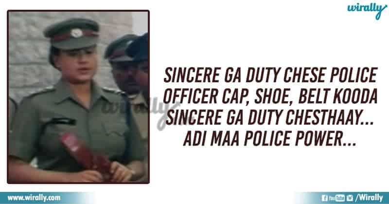 goosebumps Police Dialogues