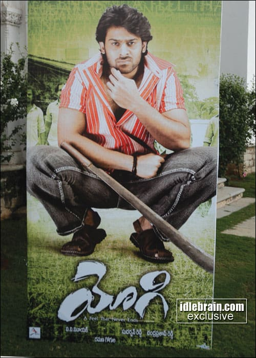Prabhas Yogi Movie Posters