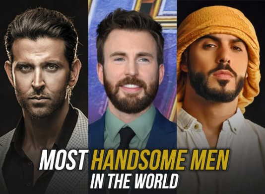 Top 10 Most Handsome Men In The World | Wirally