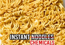 Instant noodles Cause Heart Disease