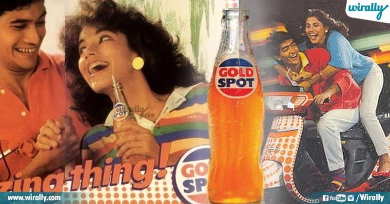 gold spot ad