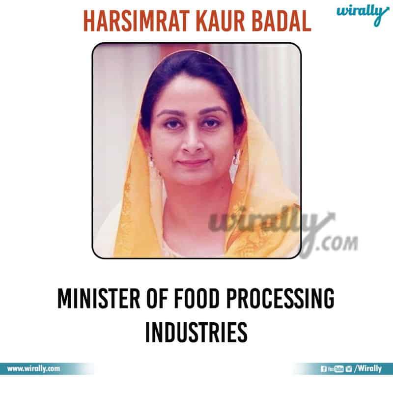 10 - Harsimrat Kaur Badal