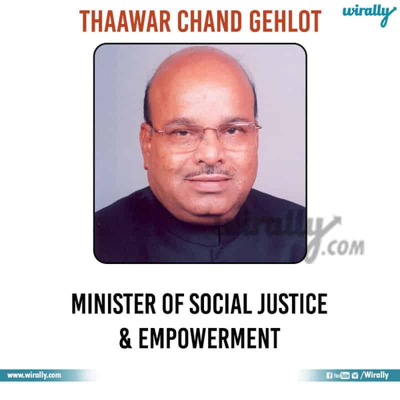 11 - Thaawar Chand Gehlot