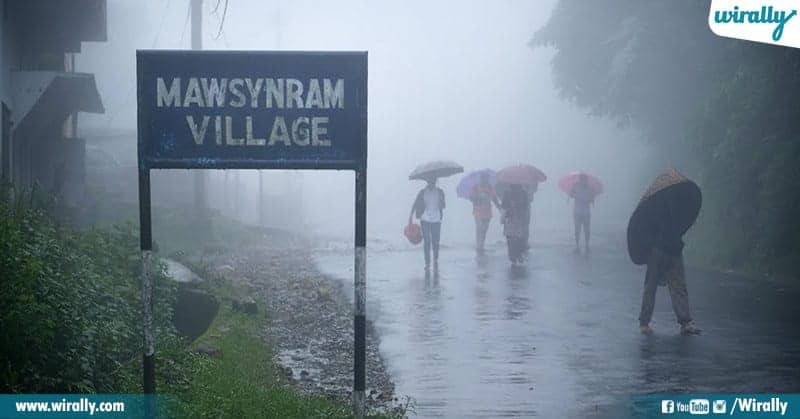 wettest place in the world