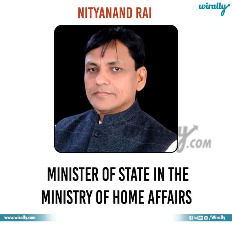 16 - Nityanand Rai