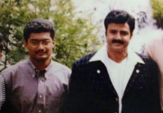 17. Rare pic of BalaKrishna and Kalyan Ram