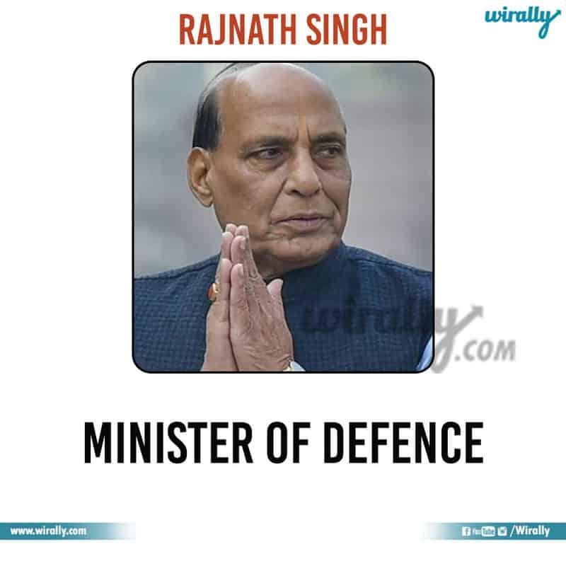 2 - Rajnath Singh