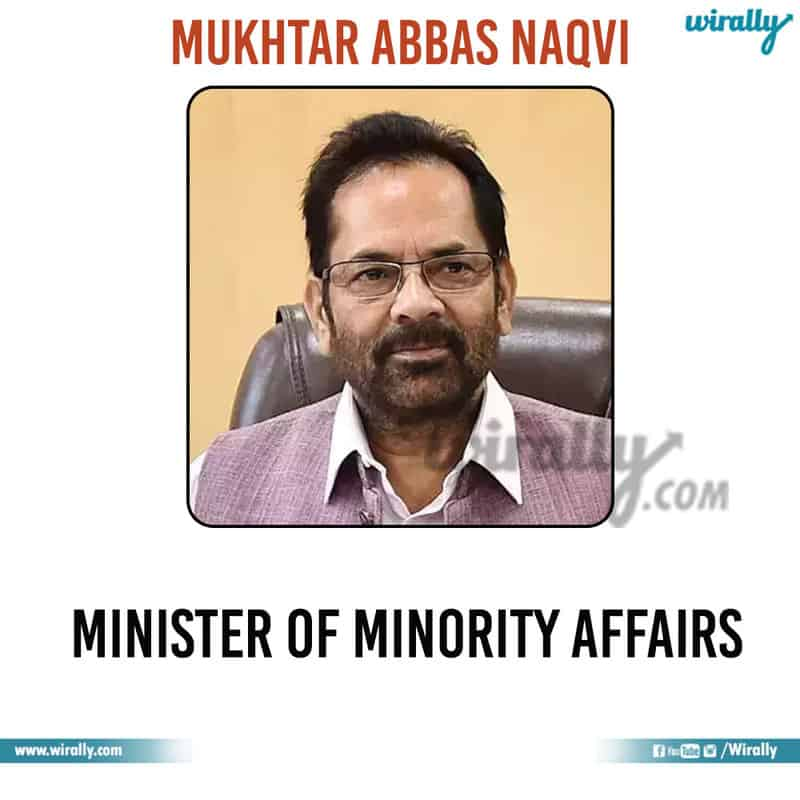 20 - Mukhtar Abbas Naqvi