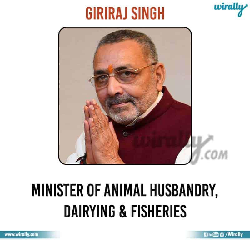 24 - Giriraj Singh
