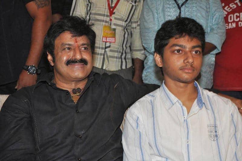 31. Balakrishna rare pic with his osn Mokshagna