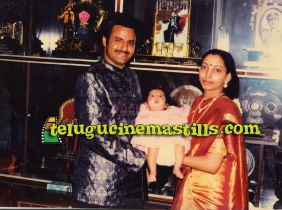 37. Rare pic of Balakrishna and his wife Vasundara