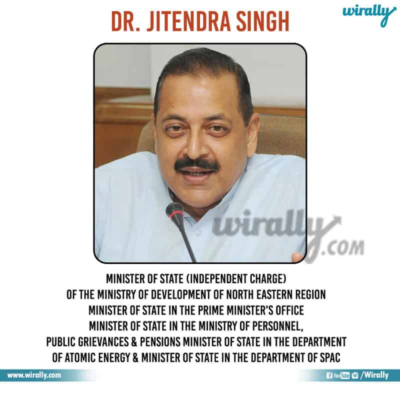 4 - Dr. Jitendra Singh