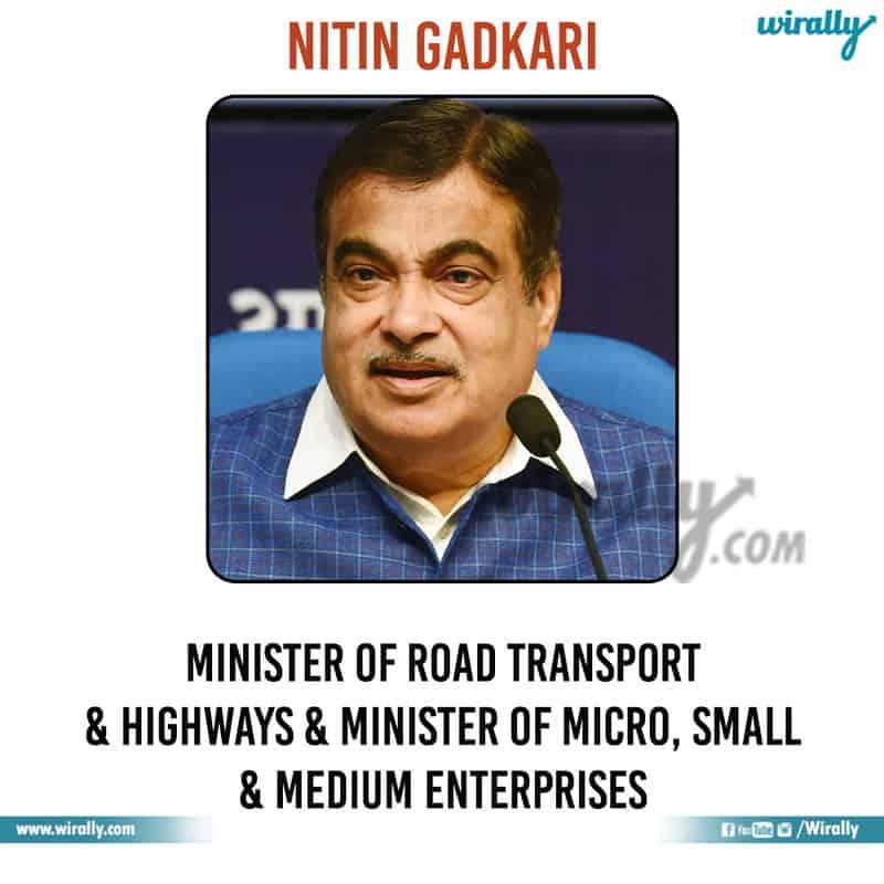 4 - Nitin Gadkari