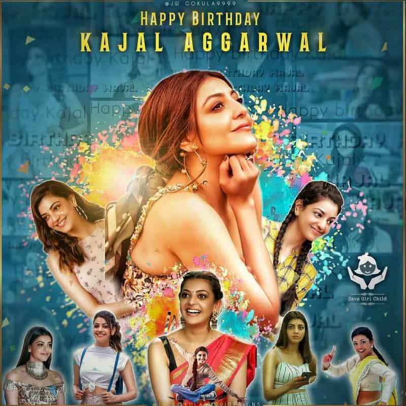 Happy Birthday kajal Aggarwal