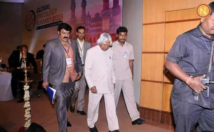 45. Balakrishna wit APJ Abdul Kalam