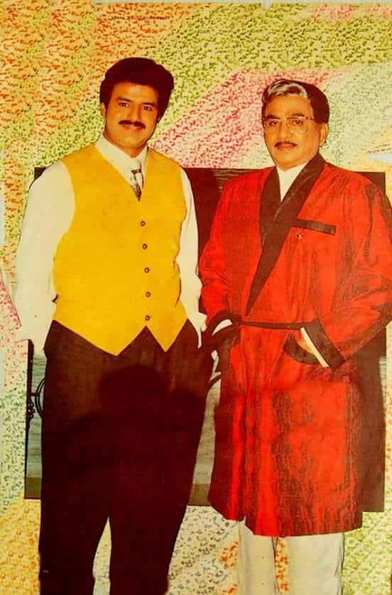 46. Balakrishna rare pic with Leganedary ANR garu