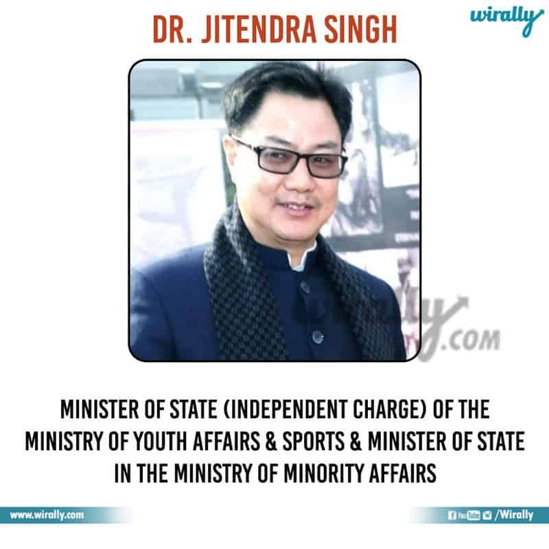 5 - Dr. Jitendra Singh
