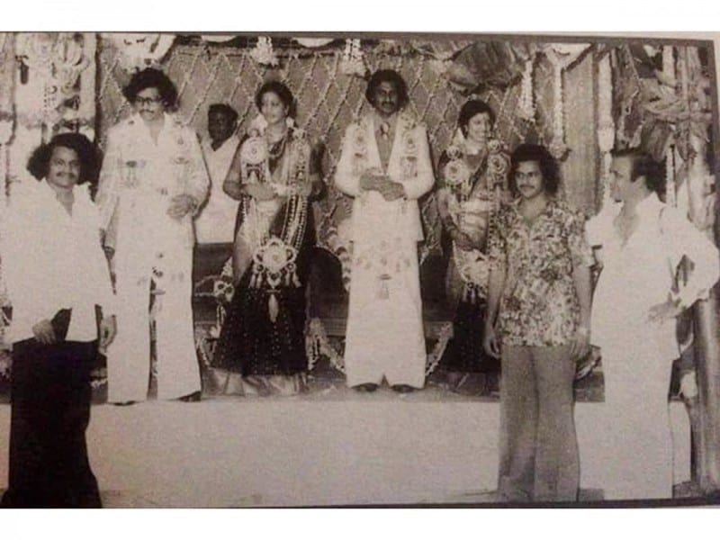 5. Balakrishna young age pic with his father NTR and brother Harikrishna