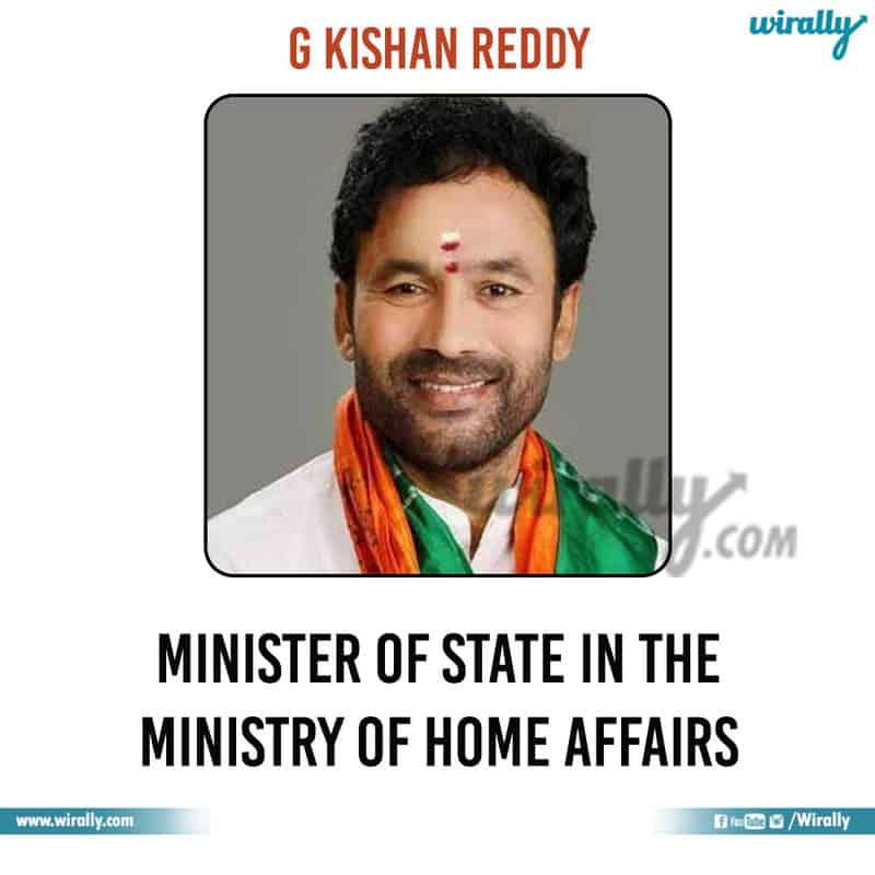 7 - G Kishan Reddy
