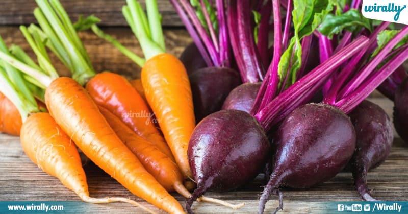 Beetroots & carrots